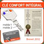 clé confort intégral brevet 2032