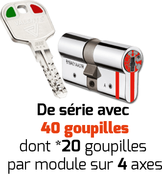 clés cylindres - MOBILDE CODE 5